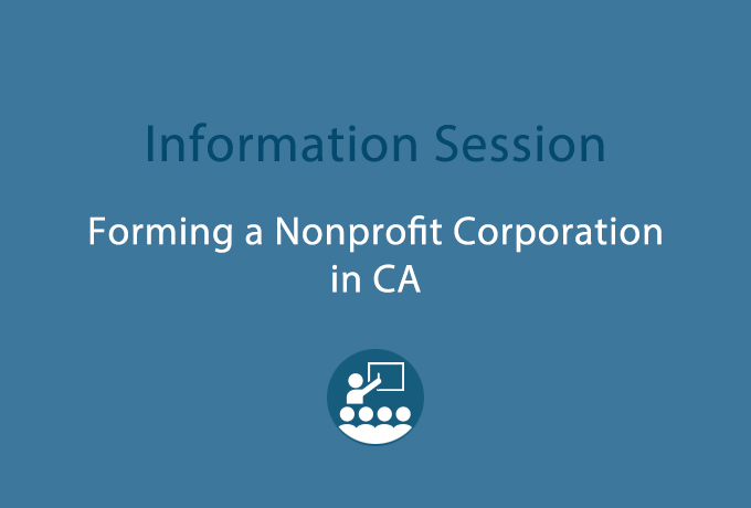 CVNL Info. Session, How to Form a Nonprofit Corporation @ CVNL Marin | San Rafael | California | United States