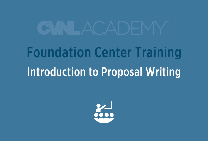 Foundation Center Training, Introduction to Proposal Writing @ CVNL | San Rafael | California | United States