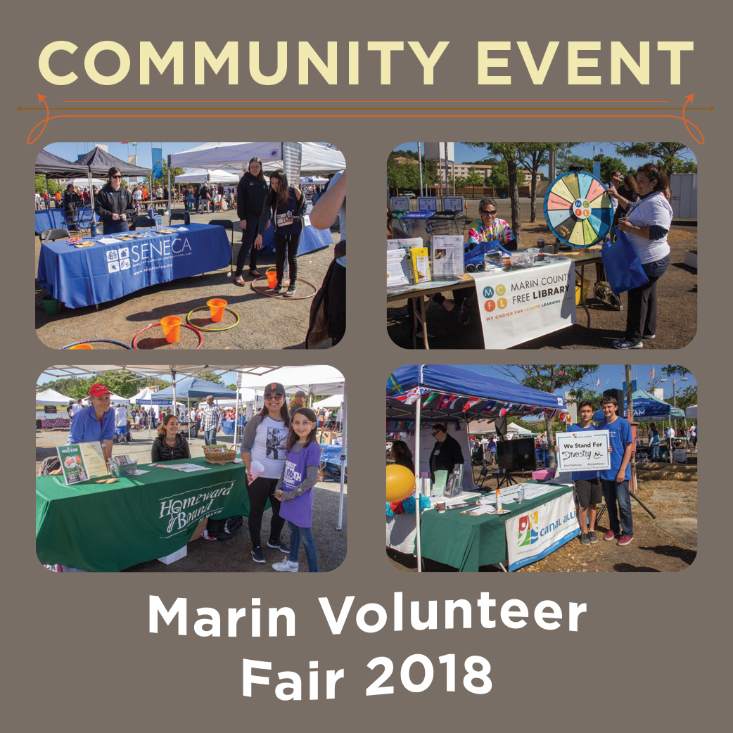 CVNL Press Release: Marin County Volunteer Fair To Be Held On October 6th