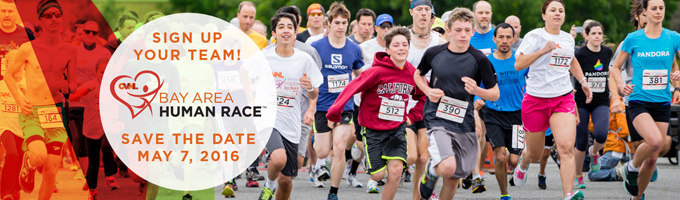 CVNL Press Release: 34th Bay Area Human Race Off To A Fast Start