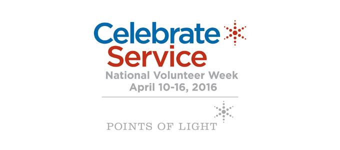 National Volunteer Week: April 10-16, 2016