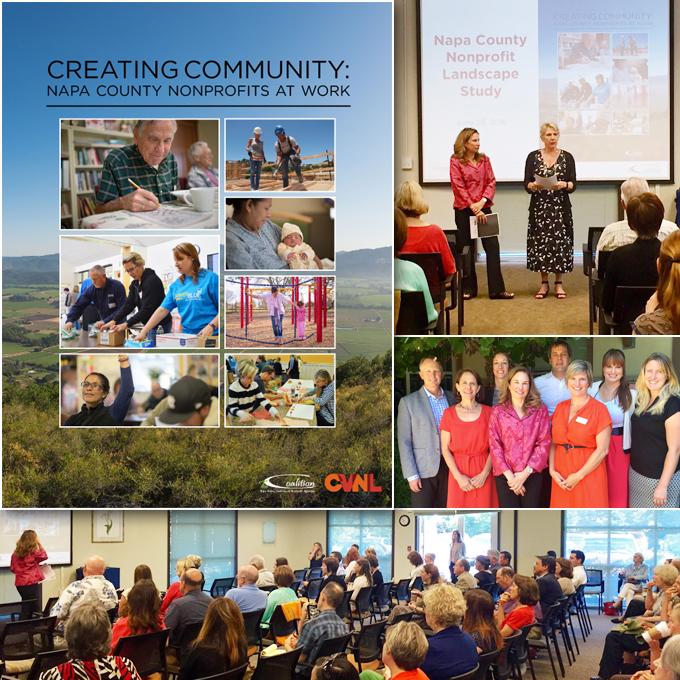CVNL Press Release: Creating Community, Napa County Nonprofits At Work, 2015 Report
