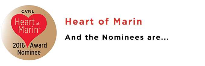 CVNL Press Release: Nominees Announced For The 24th Annual Heart Of Marin Awards