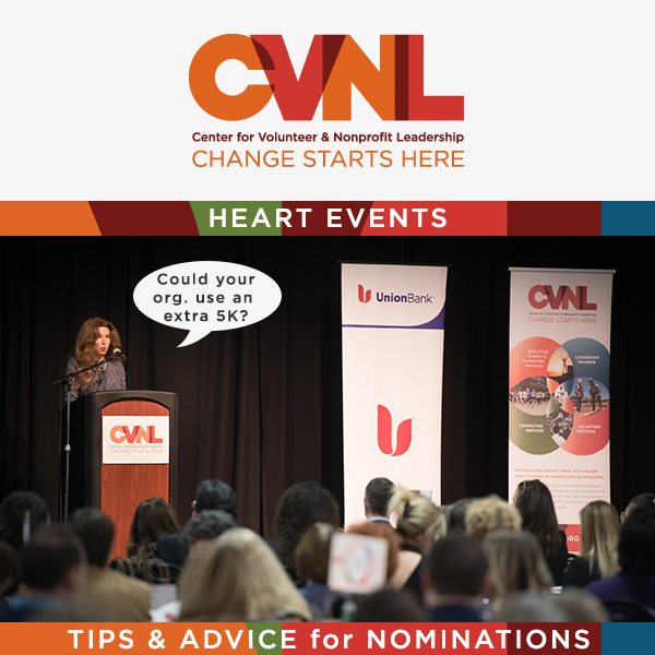 CVNL Shares Tips For Submitting Nominations To The Heart Events