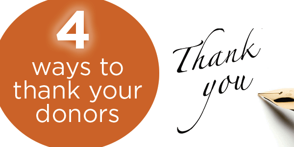Tips To Thank Donors