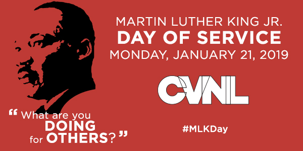 Be A Part Of MLK Day Of Service On January 21, 2019