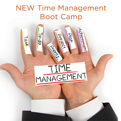 Workshop: Time Management Boot Camp for Nonprofit Leaders