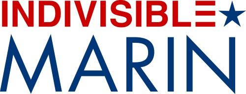 Indivisible Marin Logo