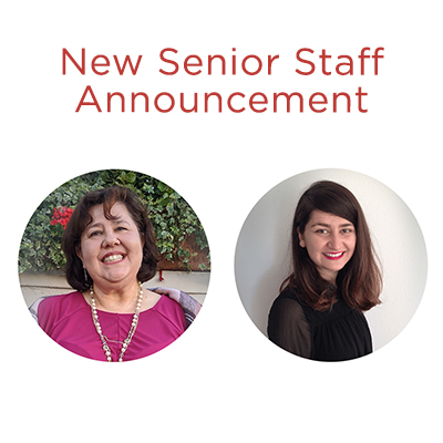 CVNL New Senior Staff